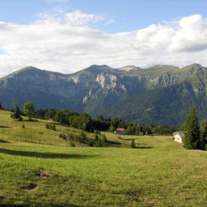 Monte Avena - Le Buse verso le Vette Feltrine